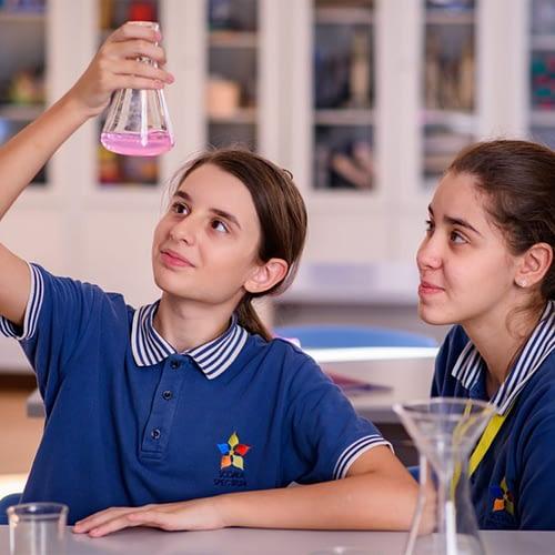 experiment chimie gimnaziu